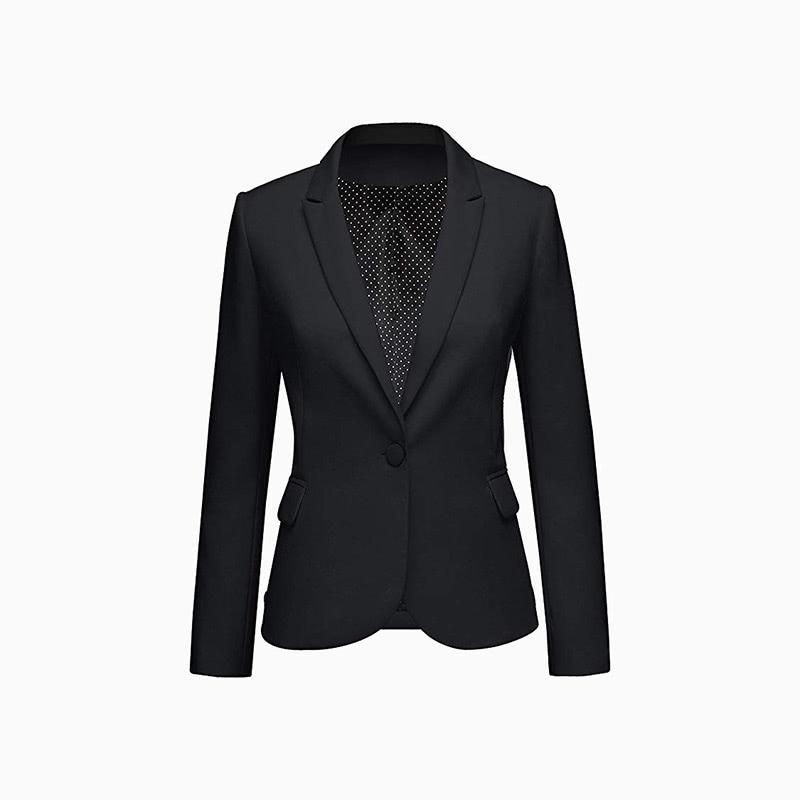 blazer jacket women business casual style luxe digital
