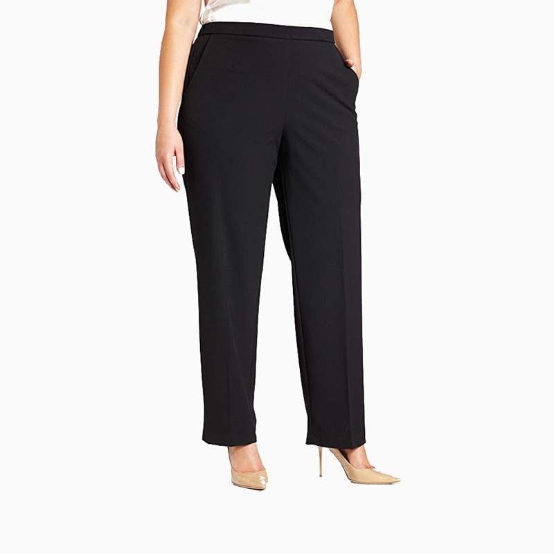 plus size pants women business casual style luxe digital