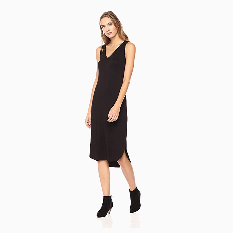 daily ritual midi dress women business casual style luxe digital