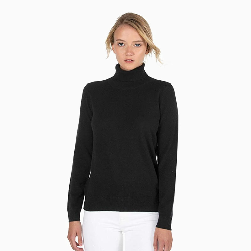 jennie liu cashmere turtleneck women business casual style luxe digital