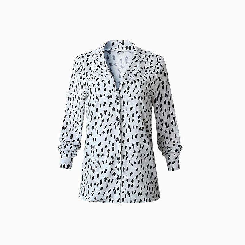 leopard print shirt women business casual style luxe digital