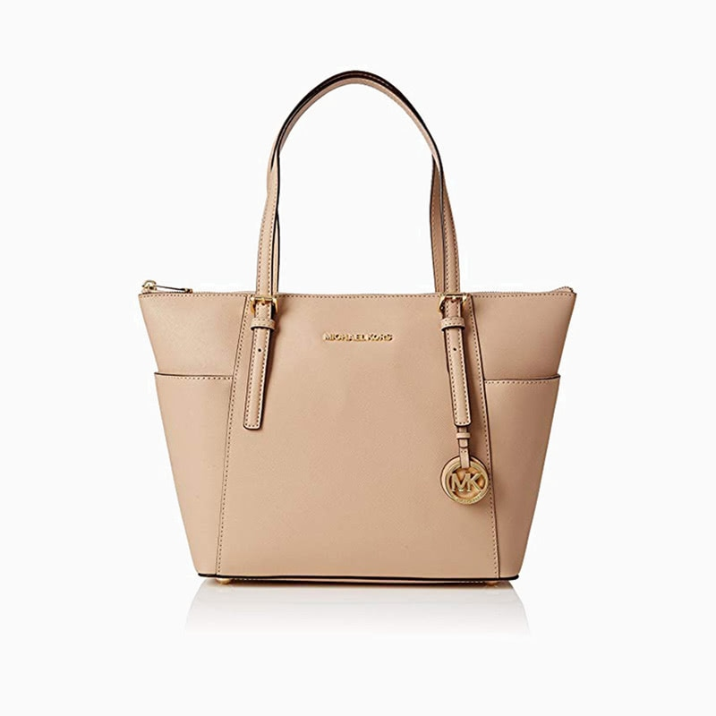 michael kors leather tote bag women business casual style luxe digital