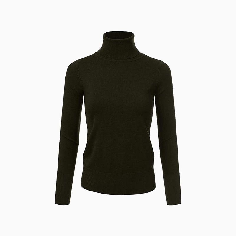 plus size turtleneck women business casual style luxe digital