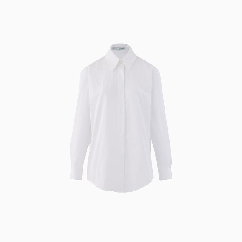 off white shirt women business casual style luxe digital