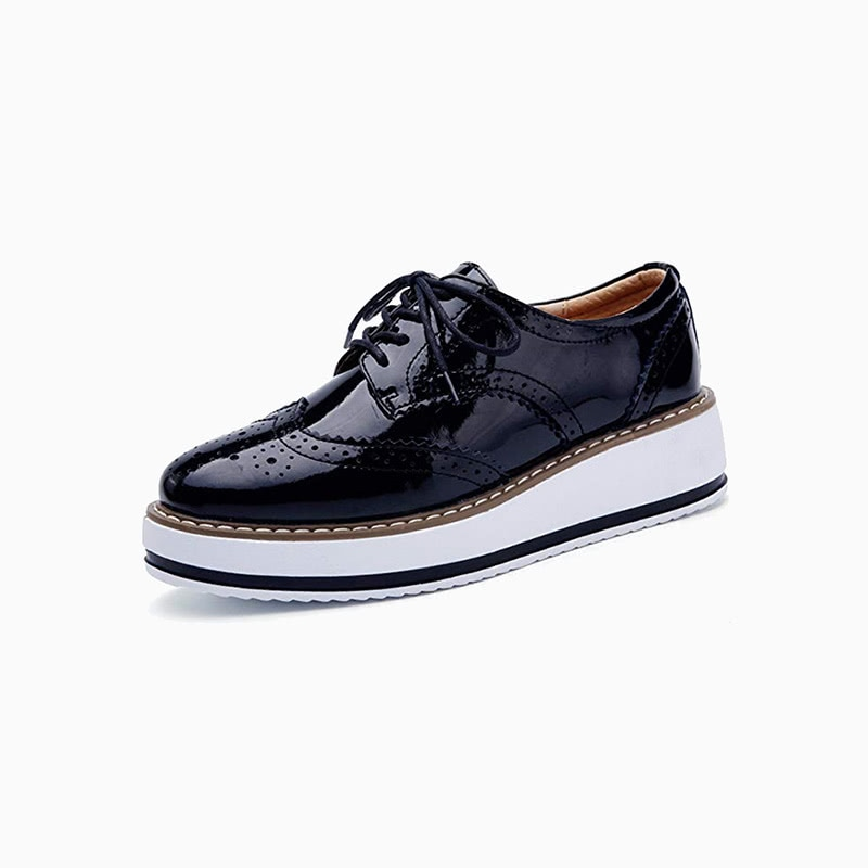 oxfords platform shoes women business casual style luxe digital
