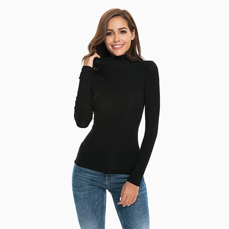 black turtleneck women business casual style luxe digital