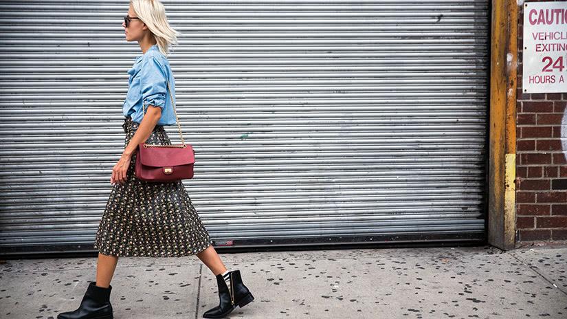 denim workwear women business casual style luxe digital
