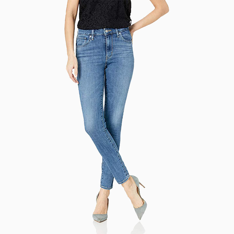 levis high rise jeans women business casual style luxe digital