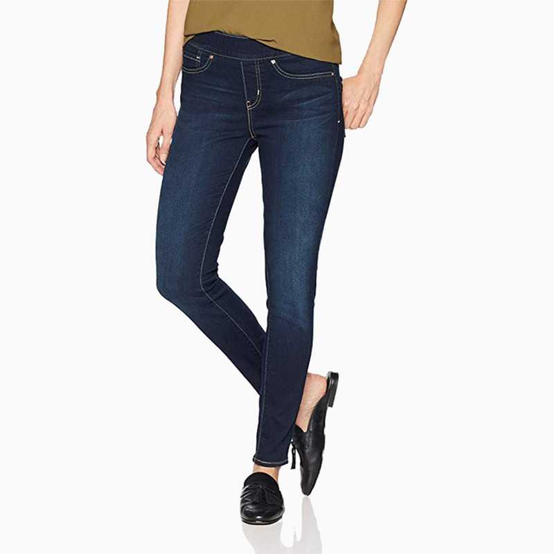 levis skinny jeans women business casual style luxe digital