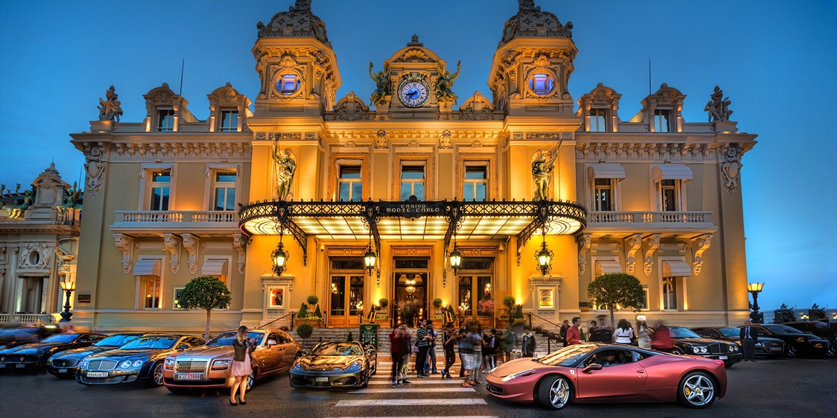 Verve Rally supercars Monte-Carlo Monaco casino - Luxe Digital