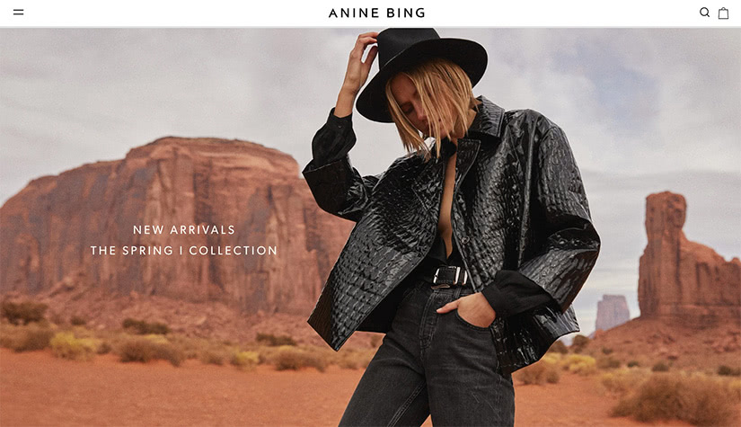 best digital native luxury dtc brands anine bing luxe digital