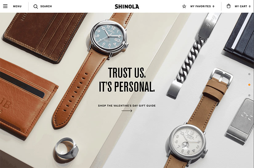 best digital native luxury dtc brands shinola luxe digital