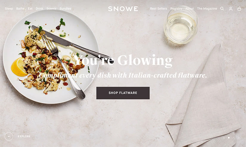 best digital native luxury dtc brands snowe luxe digital