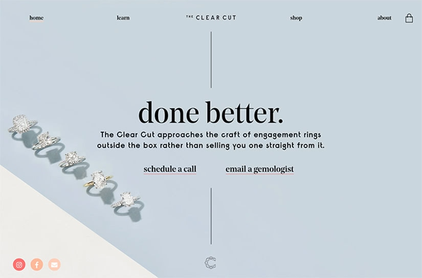 best digital native luxury dtc brands the clear cut luxe digital