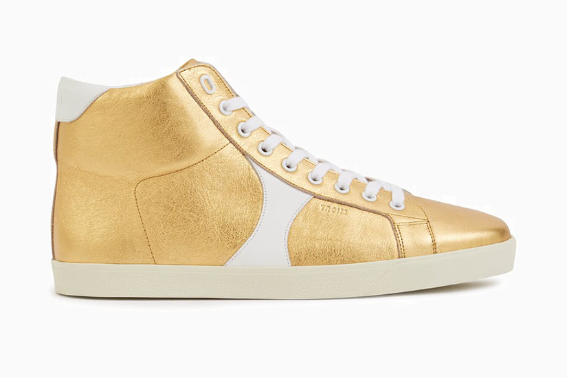 Celine triomphe high-top trainers men extravagant sneakers - Luxe Digital