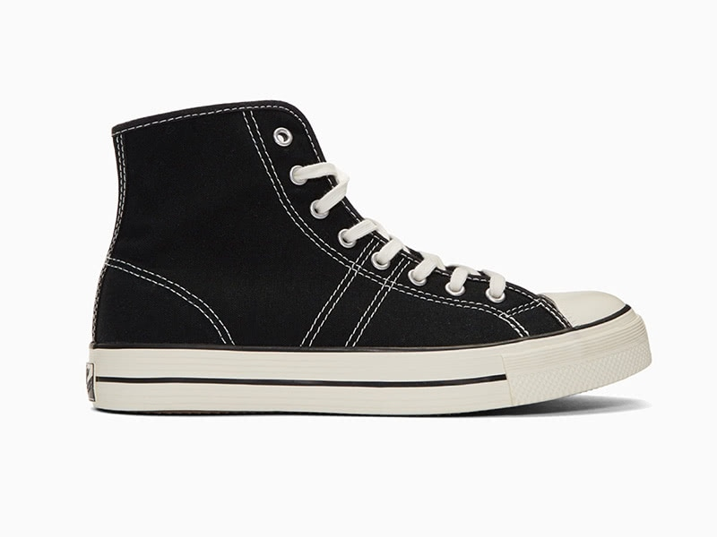 Converse black lucky star high-top men most durable sneakers - Luxe Digital