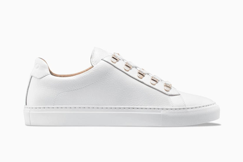 Koio gavia bianco white men sneakers - Luxe Digital