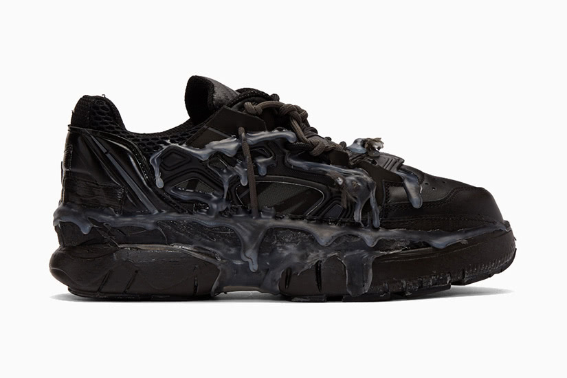Maison Margiela black fusion men most expensive sneakers - Luxe Digital