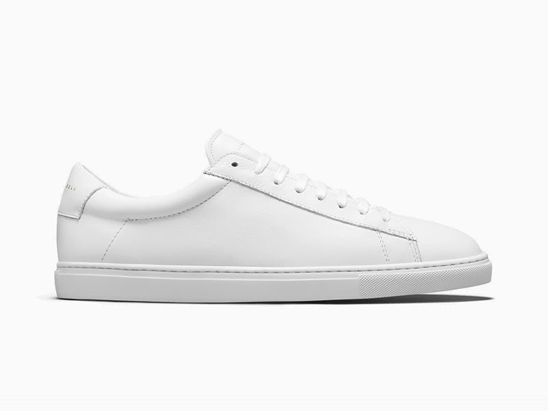 Oliver Cabell low top white men sneakers - Luxe Digital