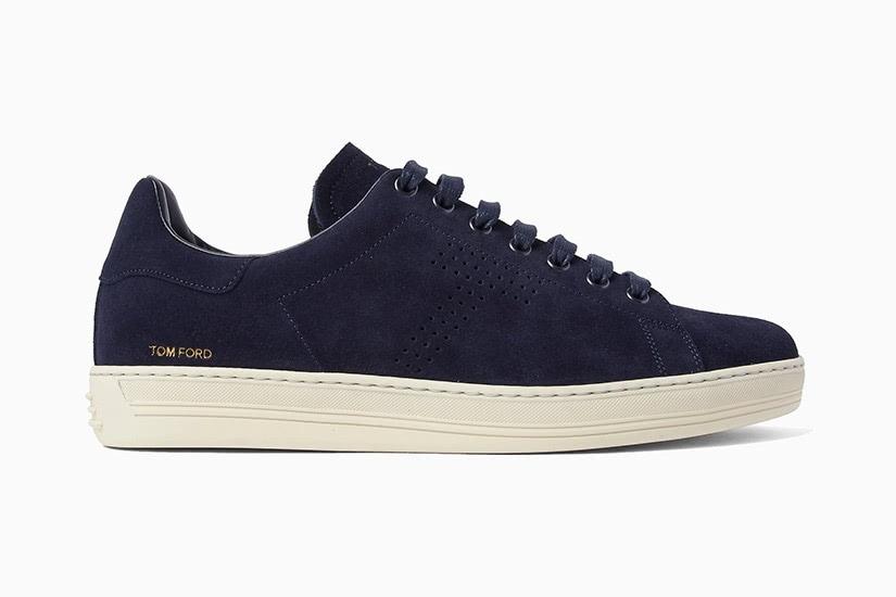 Tom Ford Warwick midnight blue sneakers versatile men - Luxe Digital