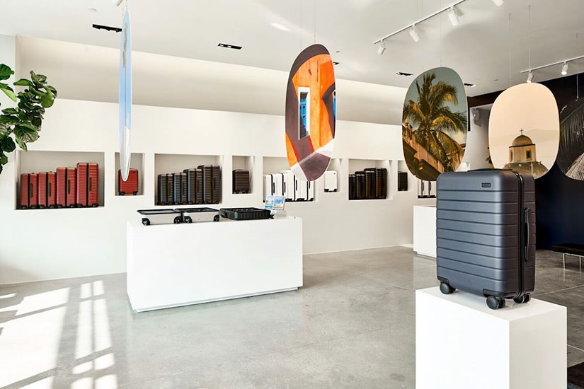 Away DTC why digital native luxury brands open physical retail stores - Luxe Digital