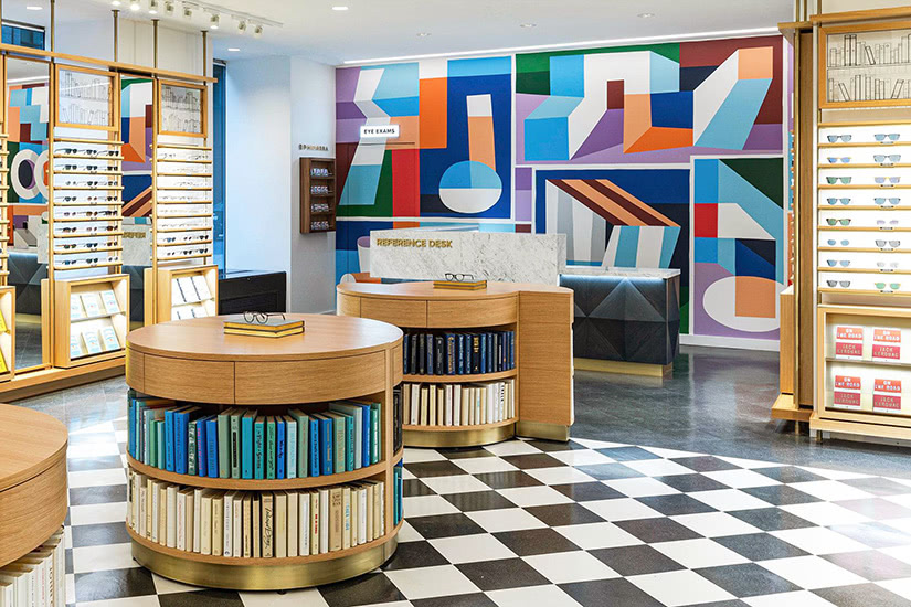 Warby Parker DTC why digital native luxury brands open physical retail stores - Luxe Digital