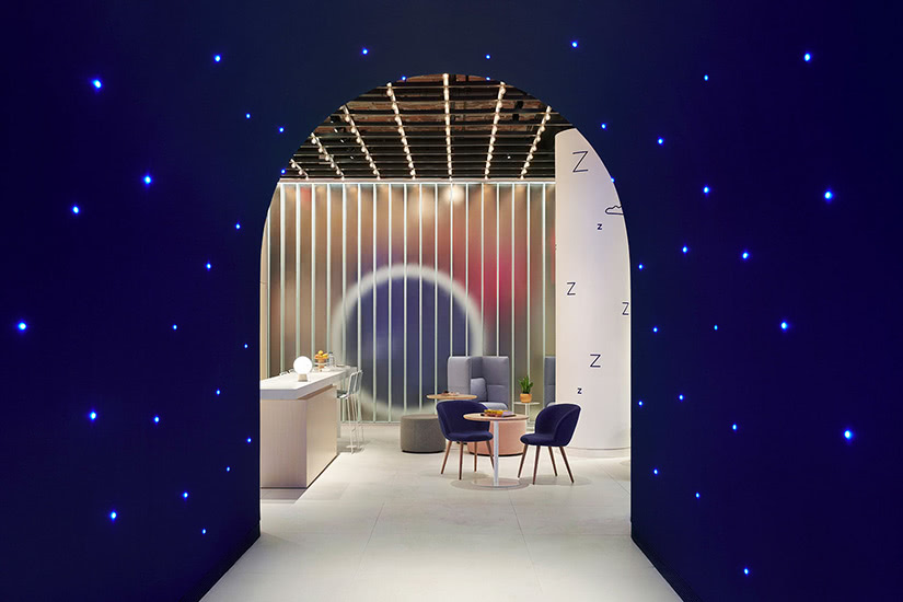 Casper Dreamery store how digital native luxury brands open physical retail stores - Luxe Digital