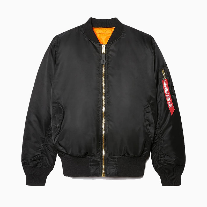 alpha industries ma-1 best classic bomber jacket men - Luxe Digital