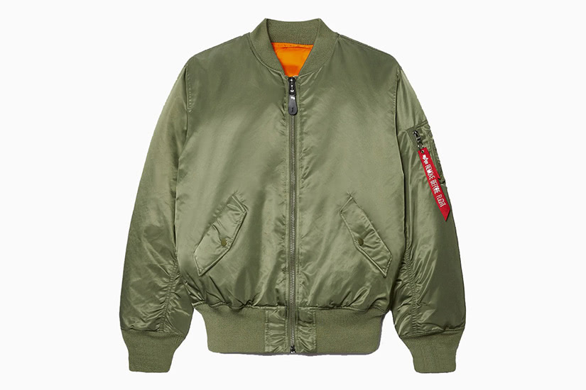 alpha industries ma-1 best green bomber jacket men - Luxe Digital