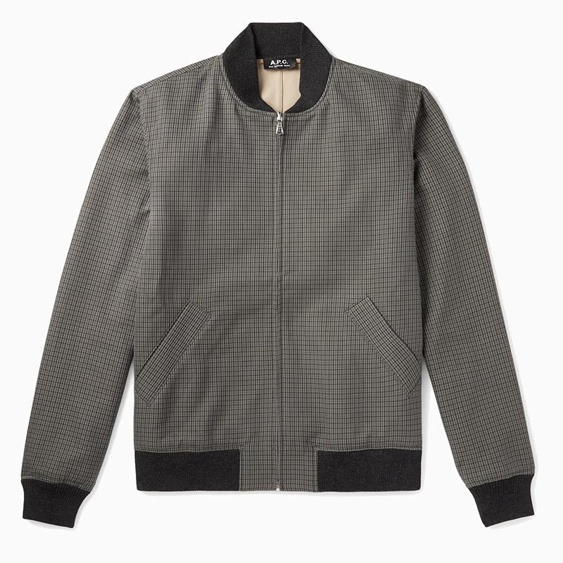 apc best dressed up bomber jacket men - Luxe Digital