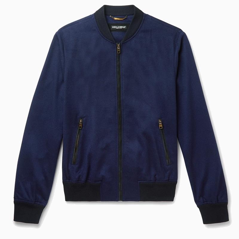 dolce gabbana best designer up bomber jacket men - Luxe Digital