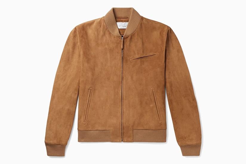gabriela hearst best tan bomber jacket men - Luxe Digital