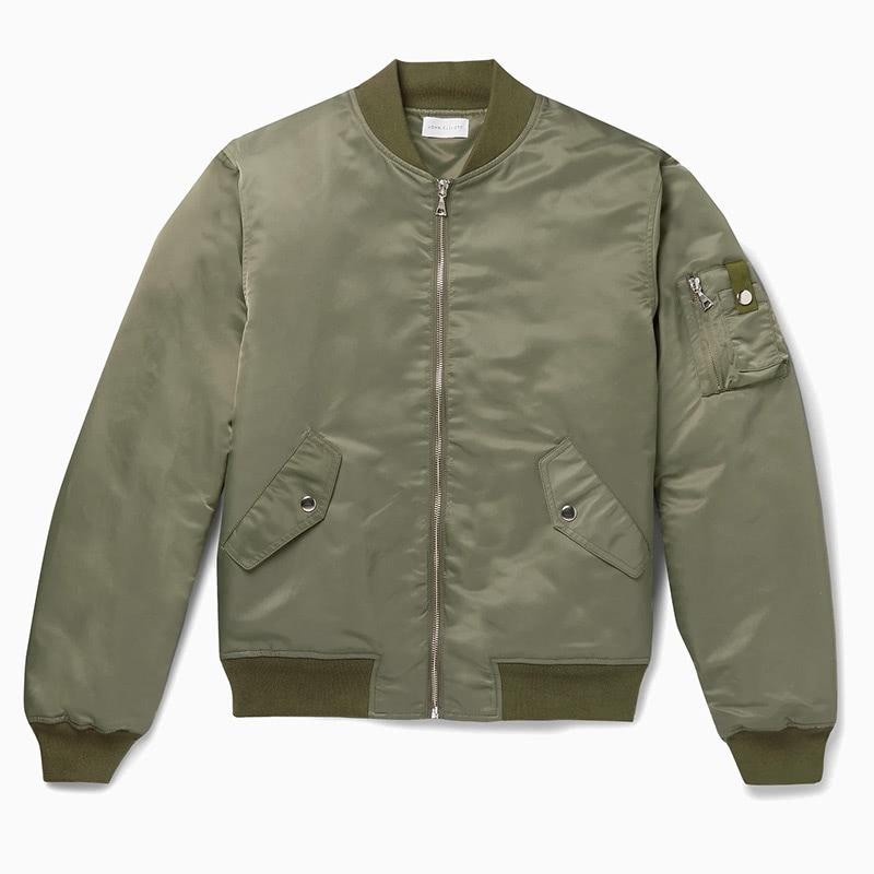 john elliott best green bomber jacket men - Luxe Digital