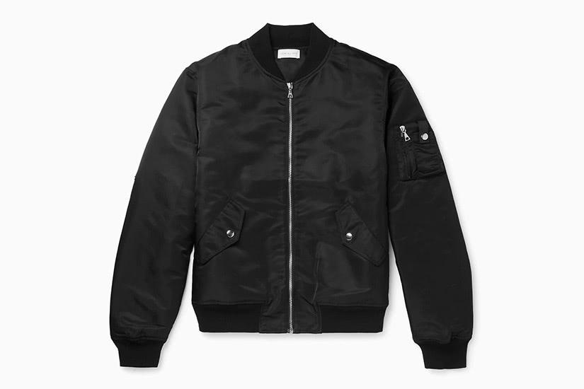 john elliott best men black bomber jacket - Luxe Digital