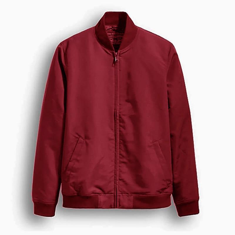 Levi's best red bomber jacket men - Luxe Digital