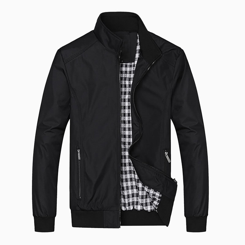 nantersan best men black bomber jacket - Luxe Digital