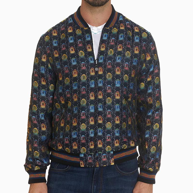 robert graham most extravagant bomber jacket men - Luxe Digital