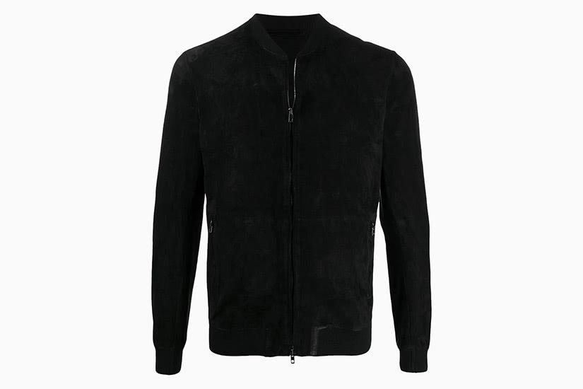 salvatore santoro best slim fit bomber jacket men - Luxe Digital
