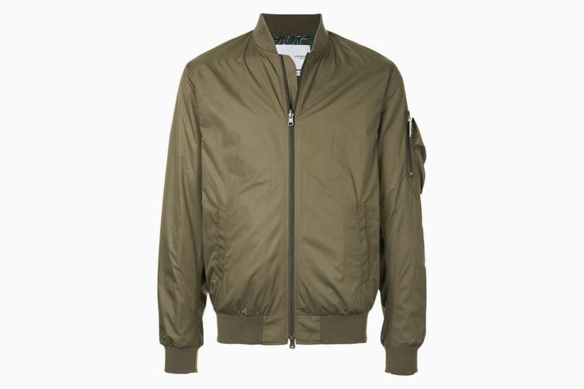 Yoshio Kubo best olive bomber jacket men - Luxe Digital