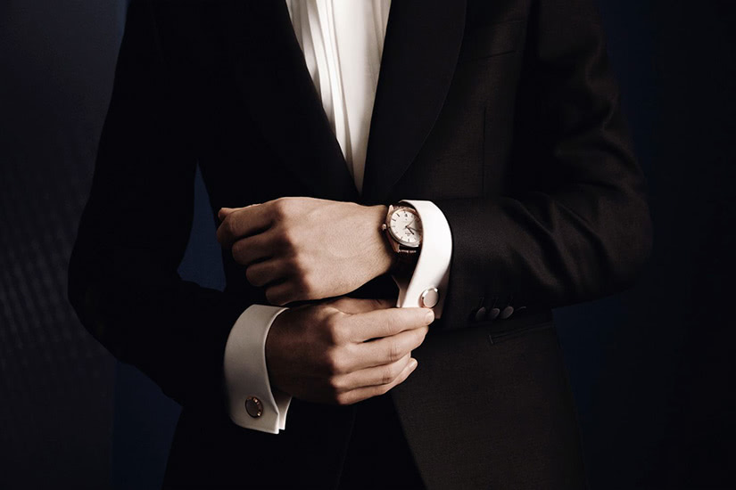 black tie dress code men luxury watch - Luxe Digital