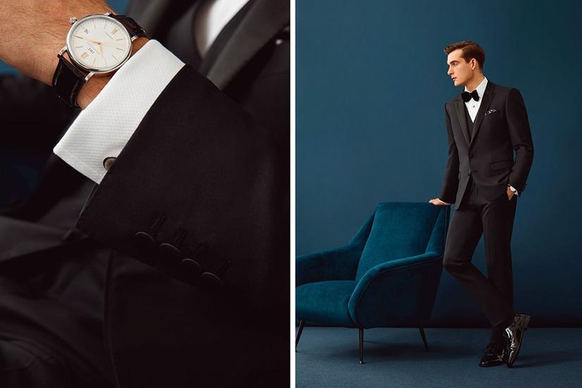 black tie dress code men suit vs tuxedo - Luxe Digital
