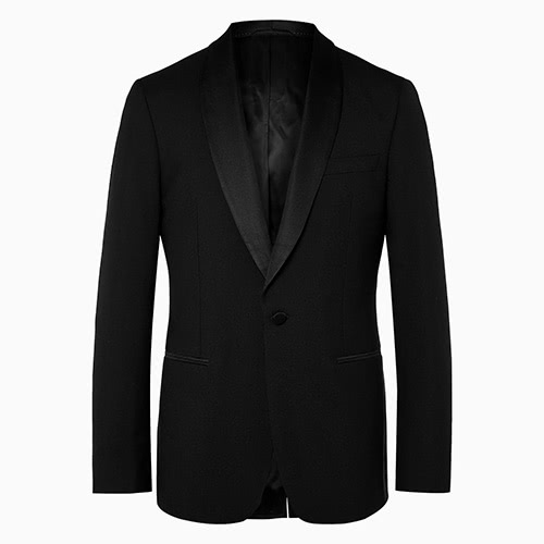 black tie men shawl lapels tuxedo jacket mr porter - Luxe Digital