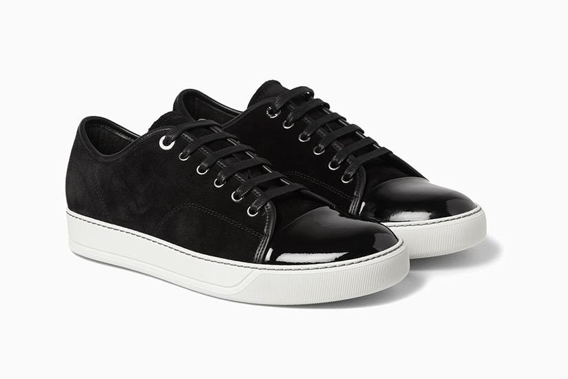 black tie men sneakers Lanvin - Luxe Digital