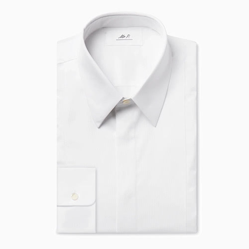 black tie men white shirt - Luxe Digital