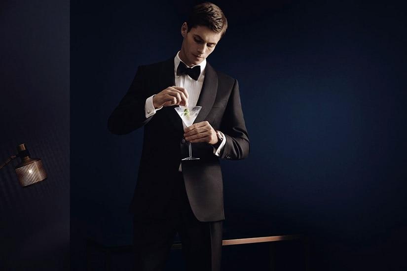 black tie party men tuxedo - Luxe Digital