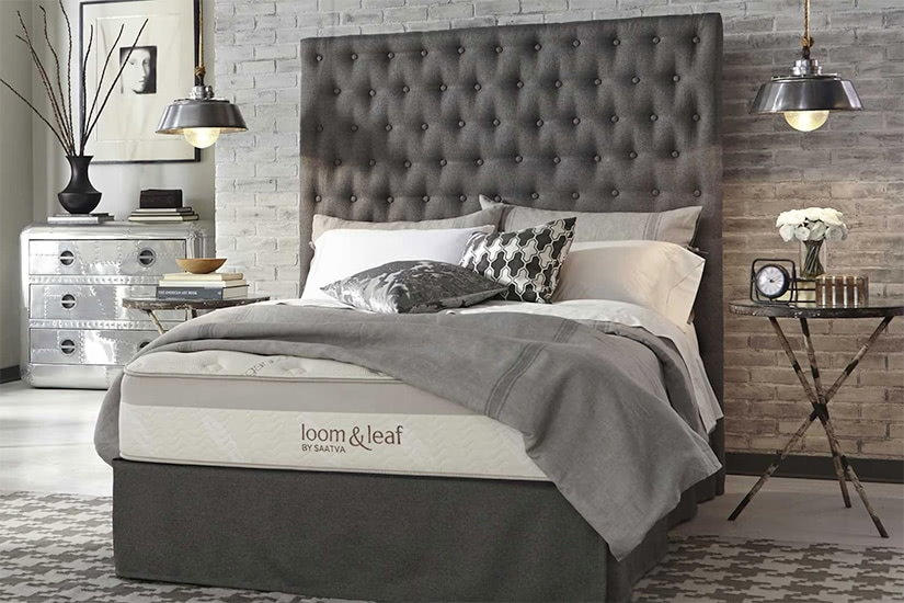 loom and leaf by saatva luxury mattress luxe digital