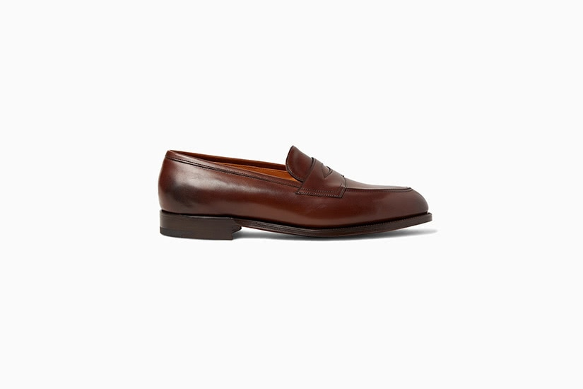 edward green leather penny loafer men shoes luxe digital