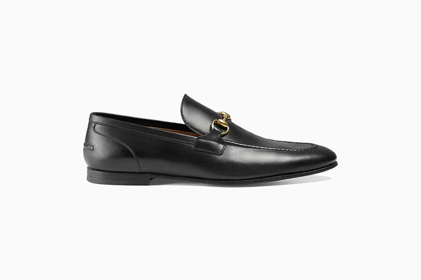 gucci jordaan leather loafer men shoes luxe digital