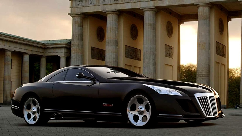 most expensive car mercedes maybach exelero luxe digital