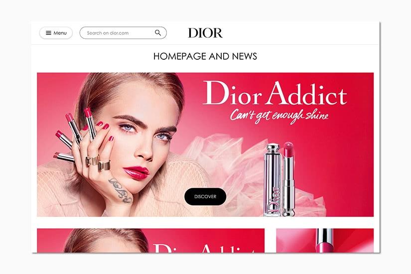 best women online shopping sites dior - Luxe Digital